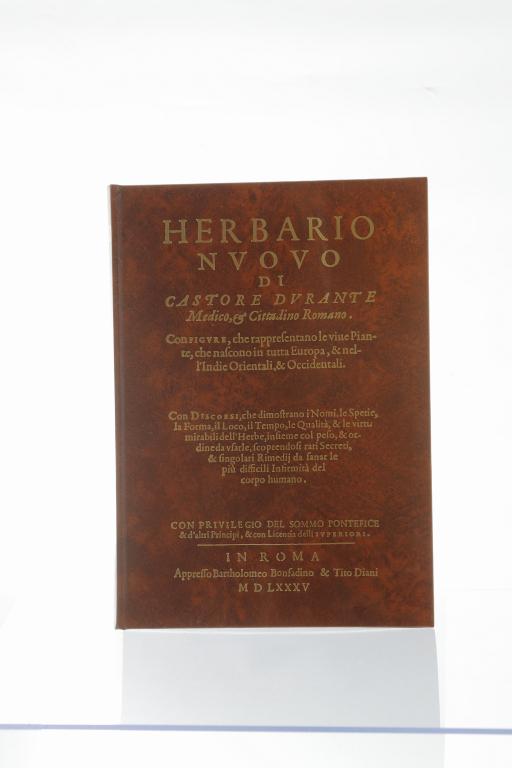 Herbario nuovo di Castore Durante