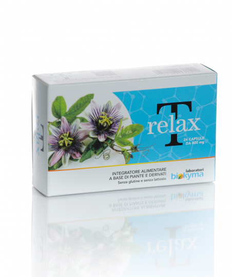 T-RELAX 24 cps.VG 600mg in BLISTER