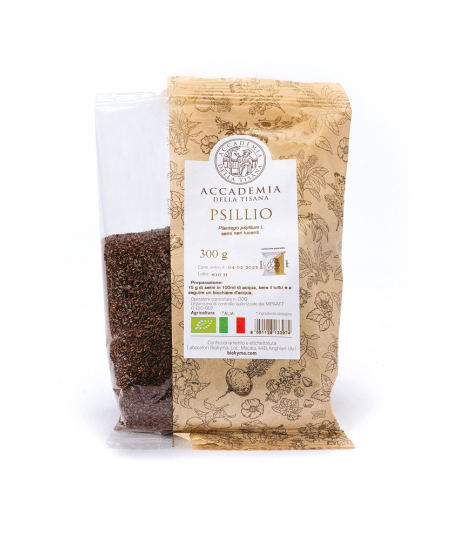 PSILLIO semi neri lucenti BUSTINA 300 g BIO ITALIA