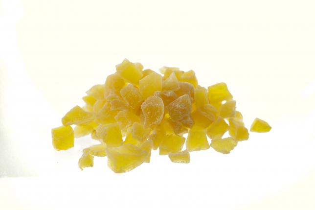 ZENZERO cubetti CANDITO senza zucchero in superficie 500g