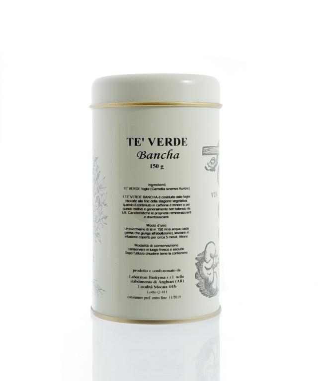 TÈ VERDE BANCHA foglie 150g