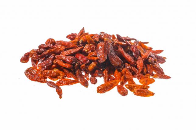 PEPERONCINO DI CAYENNA 1-2 cm frutti interi 500G